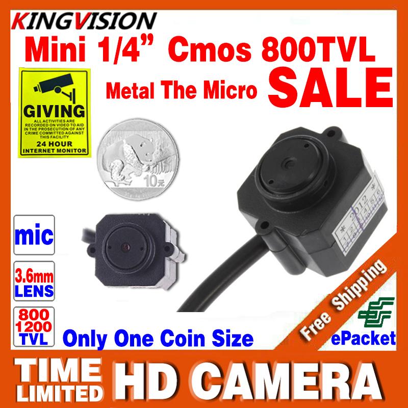 Very Samll Mini Hd 1/3cmos 800TVL Surveillance Home INDOOR Audio Mic CCTV Camera Security Color VIDEO leds Infrared Night Vision(China (Mainland))