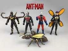 Фигурку игрушки Marvel Super Hero Человек-Муравей aciton игрушки 5 шт./компл. 12 см