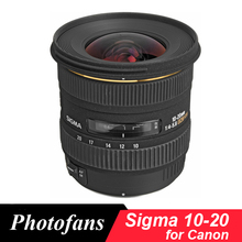 Buy Sigma 10-20 mm f/3.5 EX DC HSM wide angle Lens Canon 1300D 600D 700D 750D 760D 60D 70D 80D T3i T5i T6 T6s for $527.00 in AliExpress store