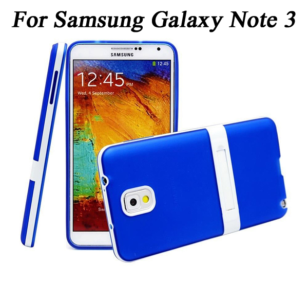 Fashion Ultra-Thin Soft Stand Translucent TPU Rubber Bumper Case Samsung Galaxy Note 3 Note3 N9000 case phone cover coque - Bestbuy Electronic Co., Ltd store