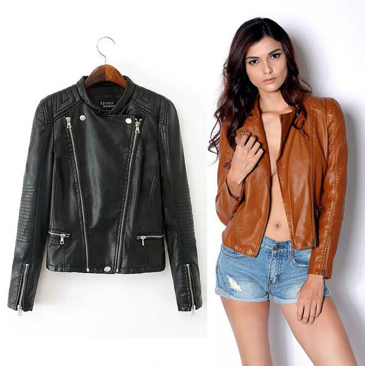 Faux Leather Jackets For Girls - Jacket