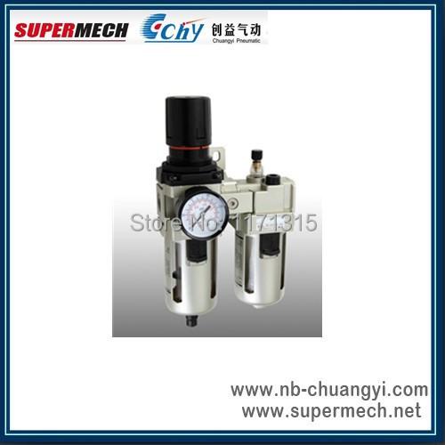 smc pneumatic air filter regulator lubricator combination, AC4010-06 G3/4(China (Mainland))