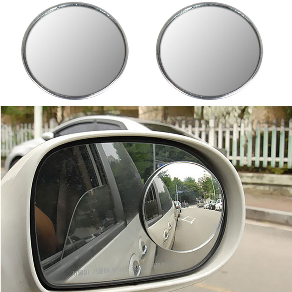 Гаджет  2 X  3 inch Blind Spot Rear View Mirrors Rearview Wide Angle Round Convex Mirror for Car Truck None Автомобили и Мотоциклы