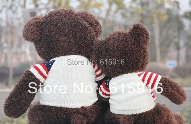 60cm giant teddy bear plush giant teddy bear three colors giant teddy bear confortable giant teddy bear(China (Mainland))