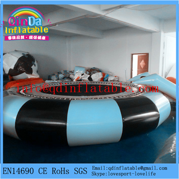 Water toys for the lake inflatable water trampoline for sale(China (Mainland))