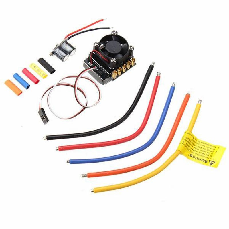 Free shipping 1/8 1/10 RC Car Parts 120A Turbo Multifunction ESC