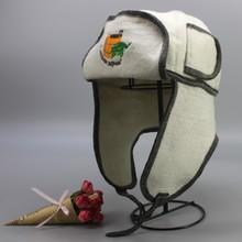 Banya wool sauna caps high quality(sauna hat) (1PCS/packing)(China (Mainland))