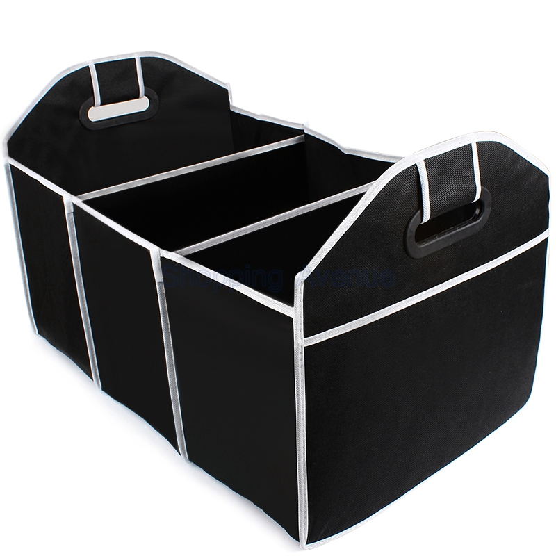 Collapsible Car Trunk Organizer Toys Food Storage Truck Cargo Container Bags Box Car Stowing Tidying Auto Accessories Styling(China (Mainland))