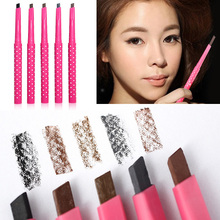 1 Waterproof Longlasting Eyebrow Pencil Eye Brow Liner Powder Shapper Makeup Tool New