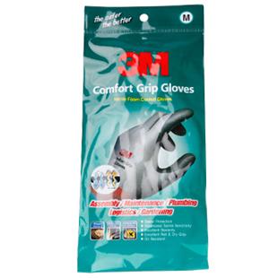 3m comfort wear-resistant slip-resistant gloves anti-labor gloves safety gloves nitrile gloves m<br><br>Aliexpress