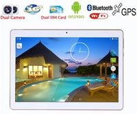 2016 Phone Call 10 Inch Tablet pc Android 5.1 Original 3G Android Quad Core 16GB ROM WiFi FM IPS LCD rom16G Tablets Pc