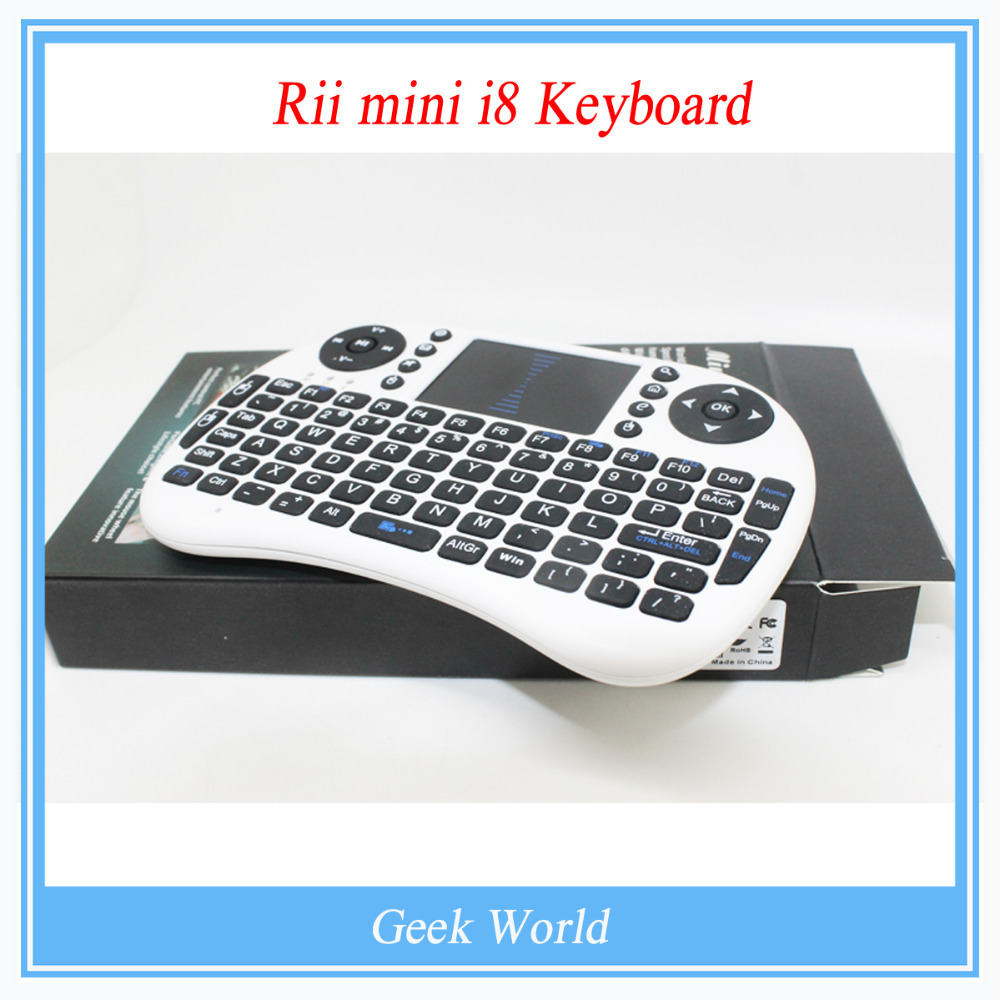 Компьютерная клавиатура Rii /i8 Touchpad PC PI Rii mini i8 Keyboard ipazzport kp 810 19btt mini wireless keyboard with touchpad and led light for tablet mini pc tv box