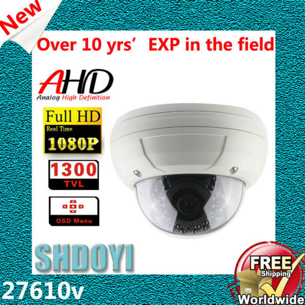 27610v CCTV Dome AHD Camera 1080P Surveillance Video Surveillance System Dome 1080p 960p 720p CCTV Cameras Outdoor Dropshipping(China (Mainland))