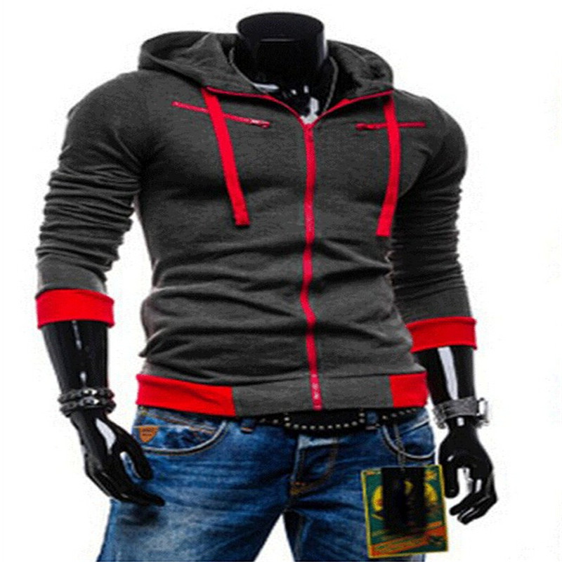 2015 autumn and winter fashion style metropolis tracksuit men hooded long-sleeved Wei clothing hedging hoodies(China (Mainland))
