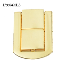 5Sets Gold Plated Case Bag Accessories Purse Lock Snap Clasps DIY Crafts For Women 3.1x2.4cm(China (Mainland))