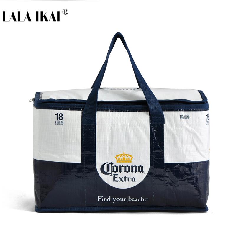 Large Capacity Cooler Bag 12L Thermal Wine Beer Food Bag Cars Ice Bag Beach Outdoor Picnic Lunch Box bolsa termica YIN0316-5(China (Mainland))