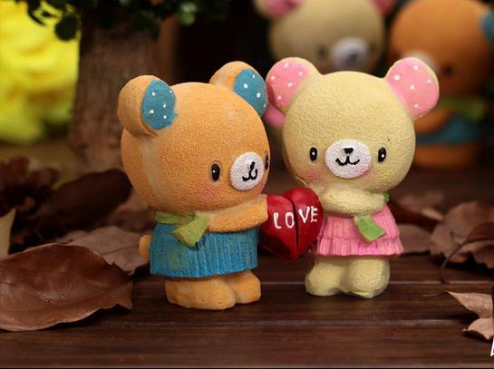 Free shipping loving couple 2 resin gifts exports in Europe and America home furnishing articles craft gifts15071013(China (Mainland))