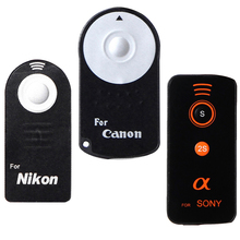 Buy Remote Shutter Release Infrared Wireless Selfie Button CR2025 DSLR Camera Canon RC-6 Nikon ML-L3 Sony 2s for $1.48 in AliExpress store