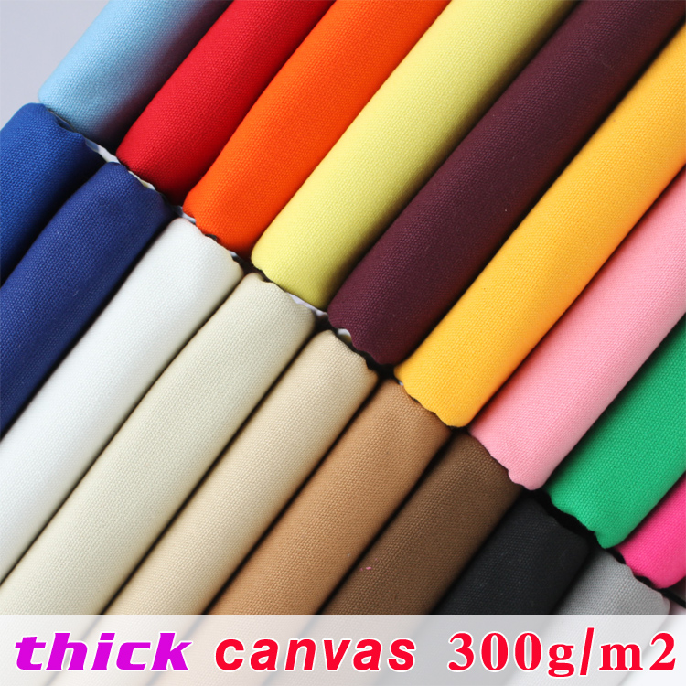 Thick canvas cotton duck fabric canvas fabric bag for Cloth material for sale
