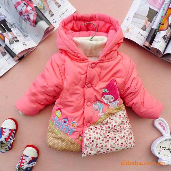 girl Minnie coats girl Winter fashion wear kids warm jackets children cartoon outwear thick coats