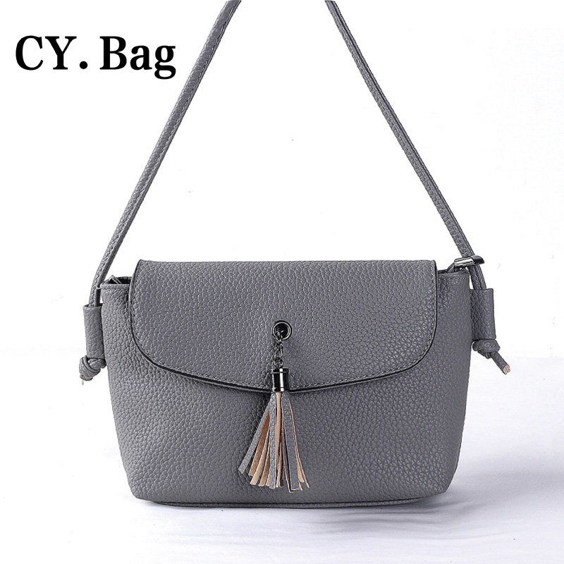 2016 New Fashion Tassel Women Messenger Bags Mini Casual Vintage Fringe Crossbody Shoulder Bag Trendy Handbags Dollar Price(China (Mainland))