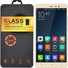 Retail Package For Xiaomi Redmi Note 3 Pro Glass For Redmi 3S Glass Tempered Note 4 3S Mi3 Mi4 Mi4C Mi5 Screen Protector(China (Mainland))