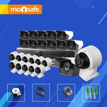 Mosafe 24CH Full HD Night Vision Motion detection ONVIF 1920*1080P P2P POE Fixed Lens Email Alarm Indoor Security System