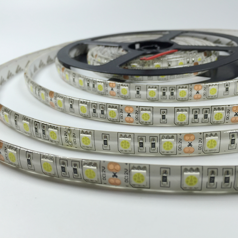 Waterproof LED Strip Light SMD 5050 Flexible Light 5M 300Led 12V White/Warm white/ Red/Green/Blue/Yellow Strip lamp bulb(China (Mainland))