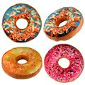 Toys For Children Kids Doughnut Shaped Ring Plush Soft Novelty Style Cushion Pillow Toy Gift Drop
