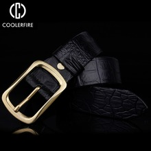 Buy Top crocodile skin belt luxury high Genuine Leather bels men designer automatic buckle mens for $10.74 in AliExpress store