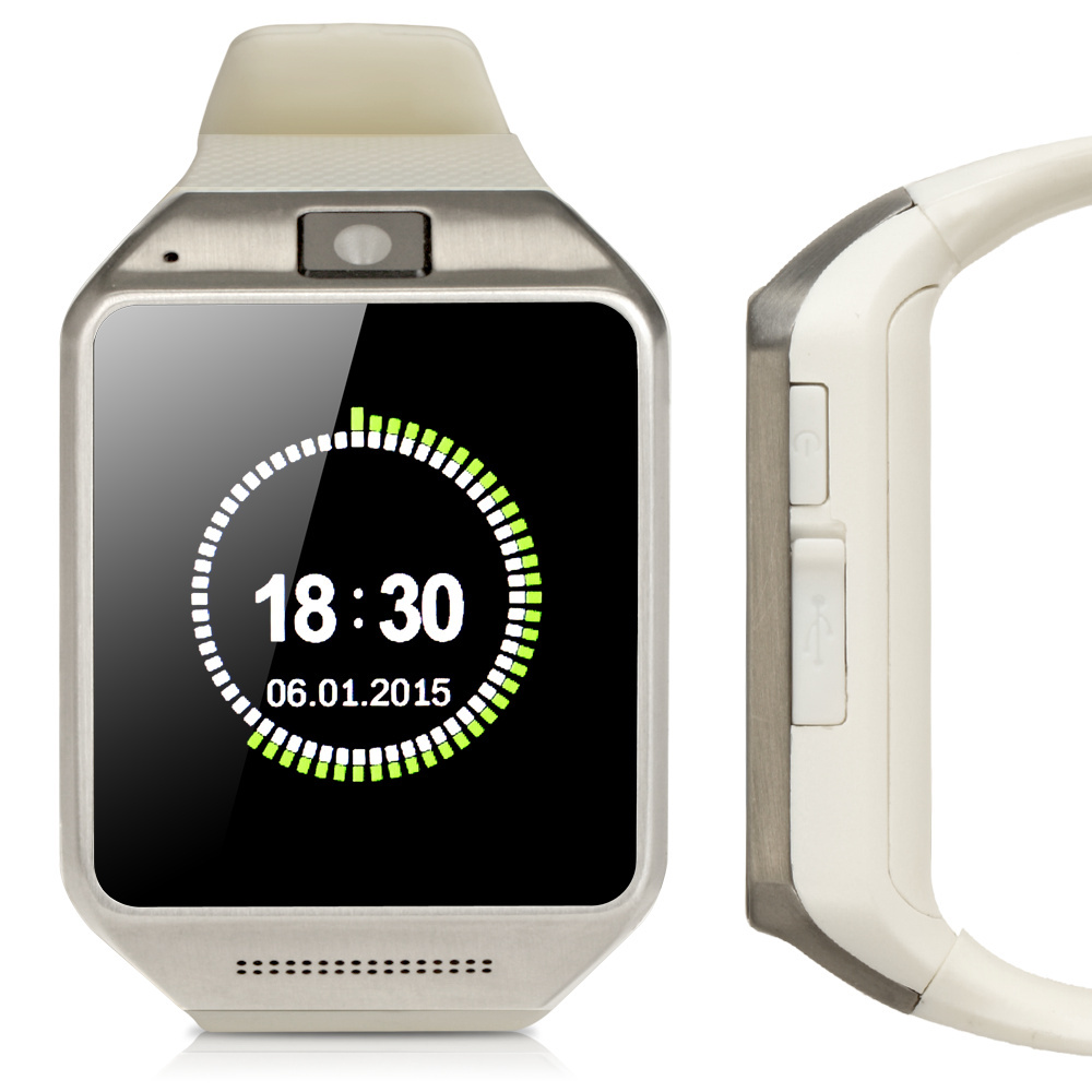 High Quality wearable devices Support SIM Card and Camera Android Smart watch GV08 Bluetooth smartwatch(China (Mainland))