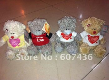 Wholesale 13cm ME TOU YOU Soft teddy bears T-shirts bears Valentine Gifts Birthday Gifts