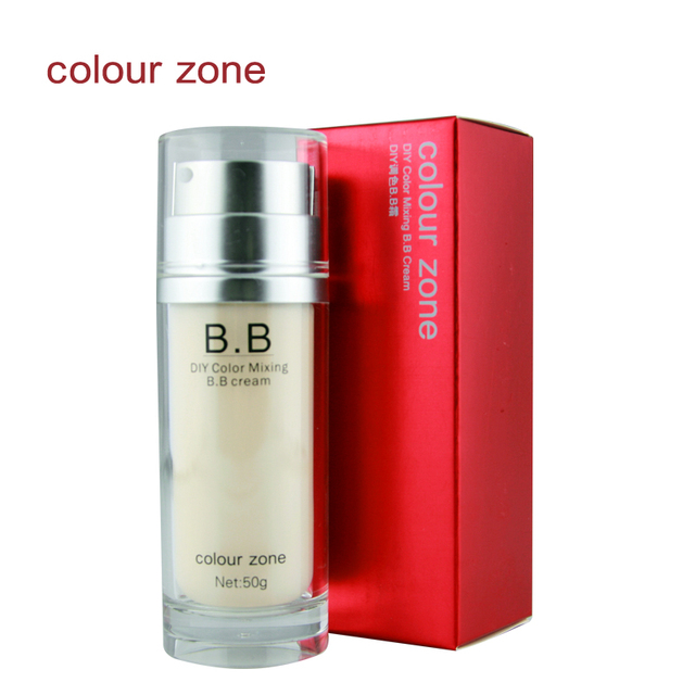 Colour zone isolation bb nude makeup concealer foundation moisturizing sunscreen diy palette