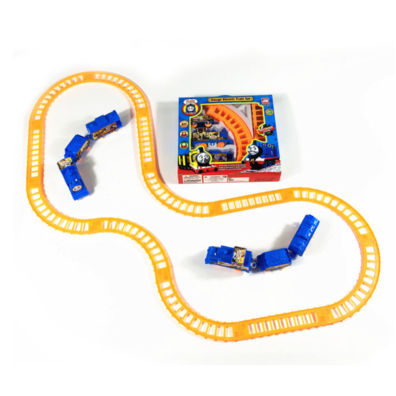 Hot 1 Set Kids Baby Interesting Electric Anime Machines Railway Trains Model Vehicles Toys Gifts for Children Boy Party Gifts(China (Mainland))