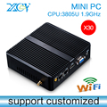 XCY Mini PC 3805U Computador barebone pc Laptop Case Computer Cable Mini PC Window 7 8
