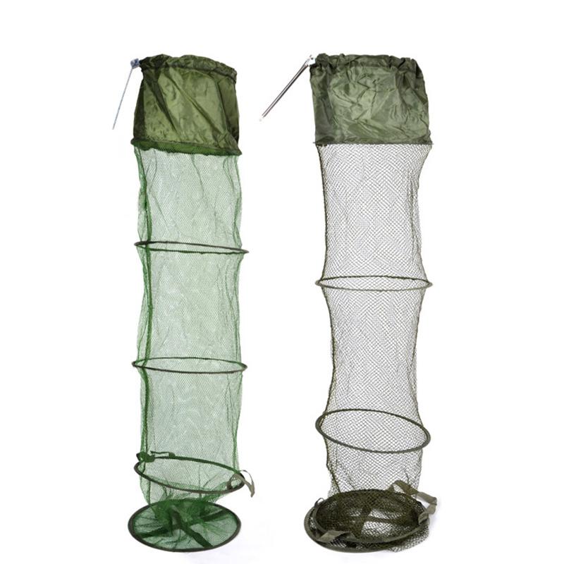 1 Piece 1.4m Foldable Fish Keep Net with Bag Pond Fishing Sea Fishing Fish Keeper Keeping Net Accessories(China (Mainland))