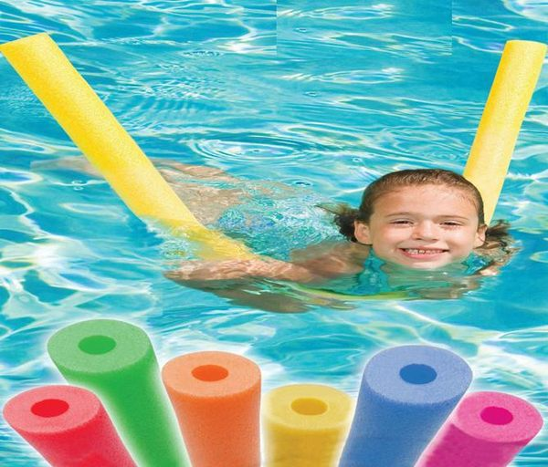 6.5*150cm EPE hollow pool noodle for beach swimming floating chair summer water sports pool toy games diy crafts wholesale(China (Mainland))