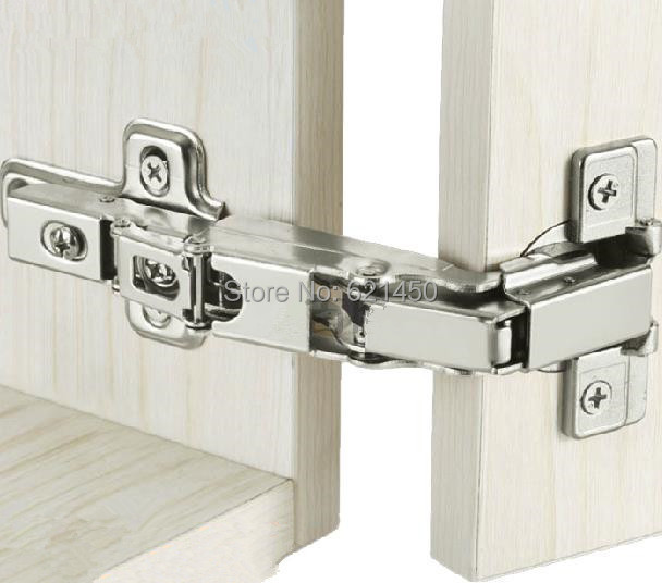 Special Large Angle 175 Degrees Thick Door Hinge Copper Cyllinder Hyddraulic Buffer Damping Hinges Dismantle Cabinet Door Hinges(China (Mainland))