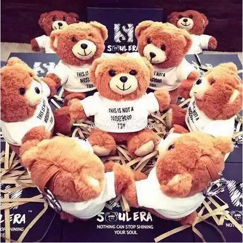 2015 NEW Fashion Cartoon Teddy Bear Power Bank Bateria Externa Portable Charger Universal Power Bank 10000mah for all CellPhones(China (Mainland))