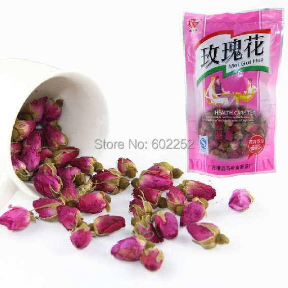 2015 year 50g Rose bud,health care Fragrant Flower Tea, the products fragrance dried rose buds skin food Free Shipping(China (Mainland))