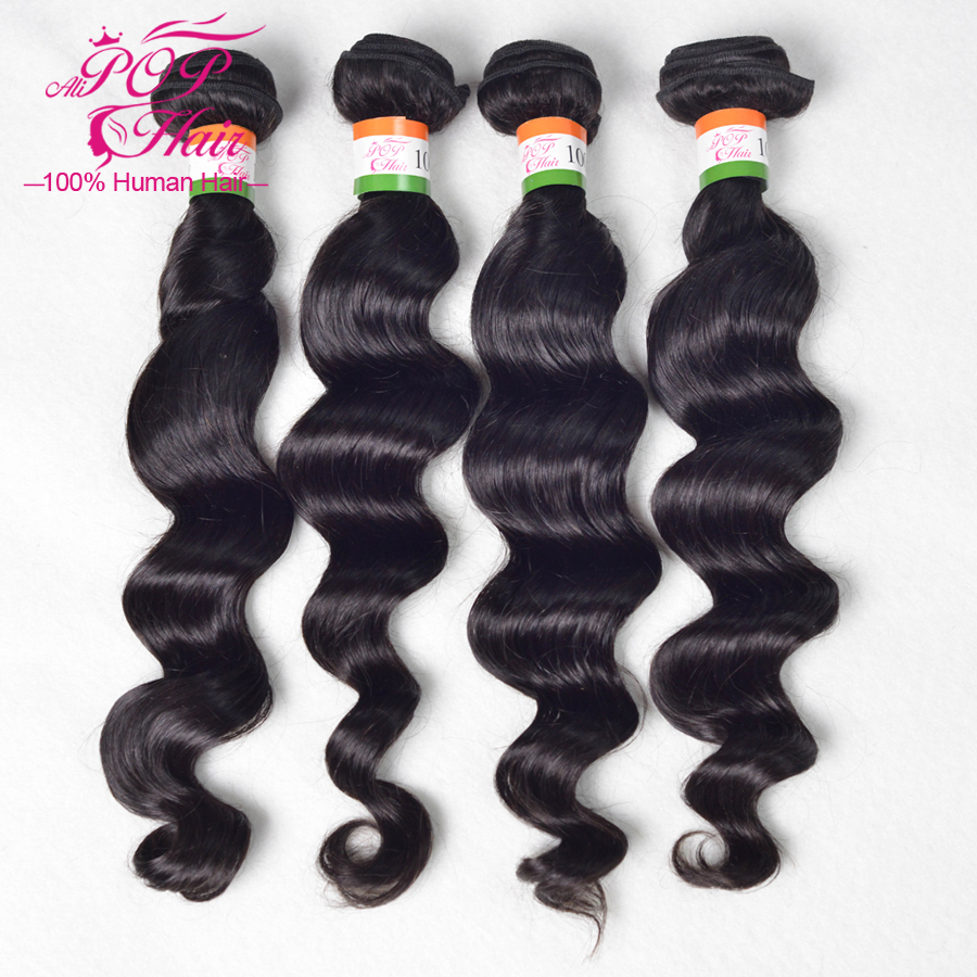 rosa hair products top quality unprocessed peruvian virgin human hair hair extensions peruvian loose wave 3pcs lot free shipping<br><br>Aliexpress
