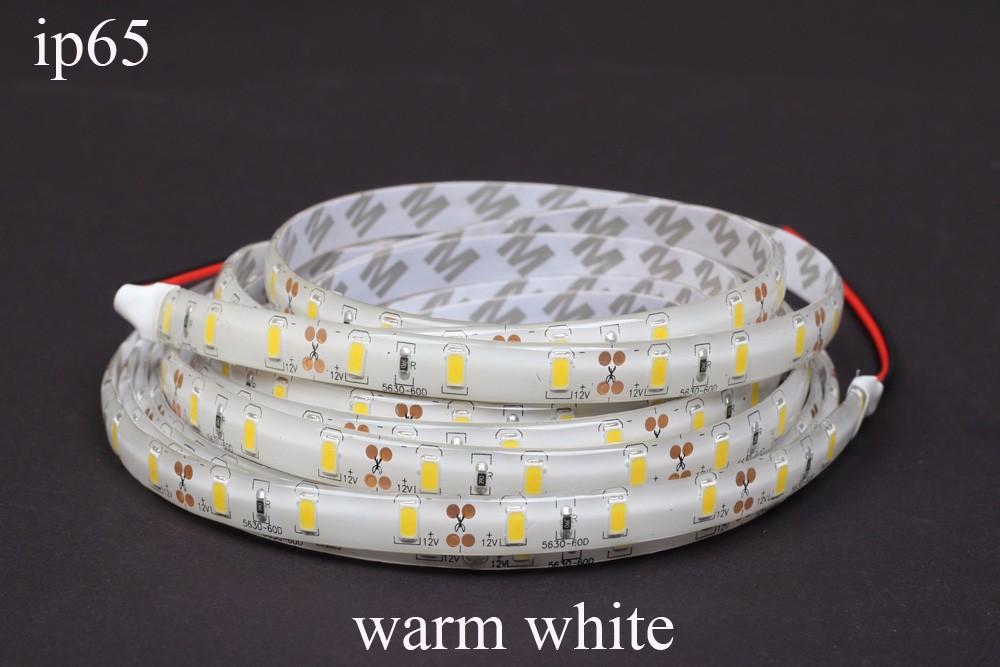 5M 300 Led 3528/5050/5630 SMD 60LEDS/M waterproof LED strip flexible light DC 12V Fita tape lamp Christmas Lampada ribbon