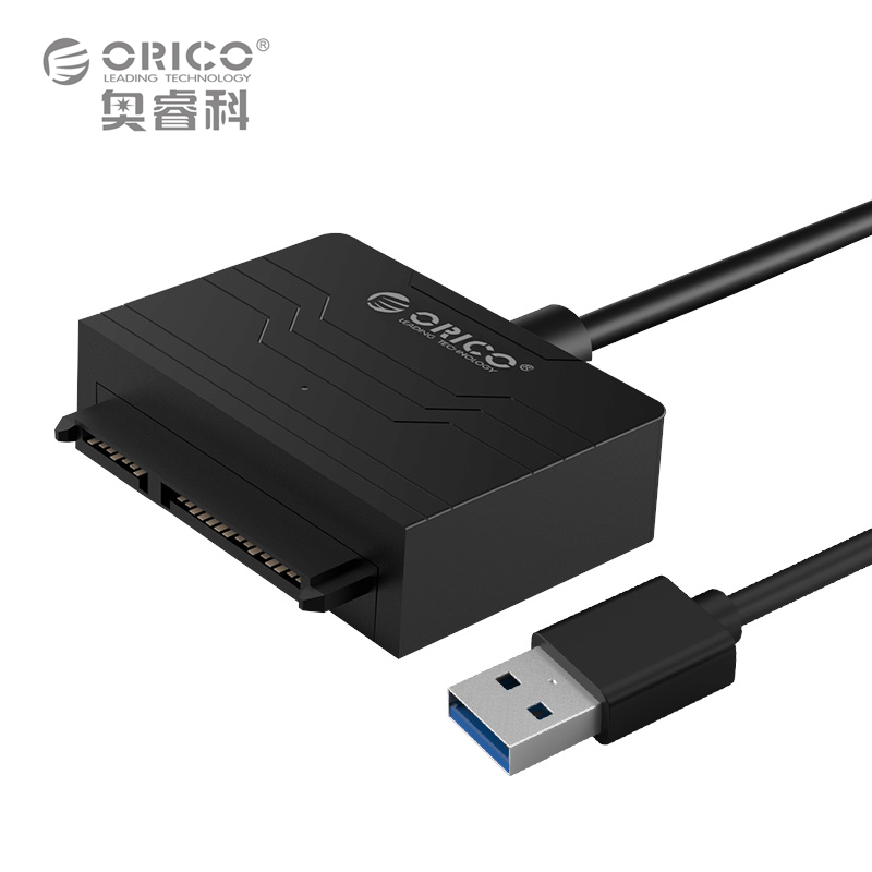 ORICO 2.5 Inch Hard Disk Driver SSD Adapter Cable Converter Super Speed USB 3.0 To SATA 22 Pin (27UTS-BK)(China (Mainland))