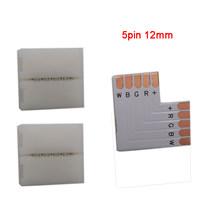 5 ~ 500 zestaw L kształt 2pin 3pin 4pin 5pin 6pin złącze LED do podłączenia narożnik kątowy 5050 RGB RGBW 3528 ws2812 LED Strip(China)