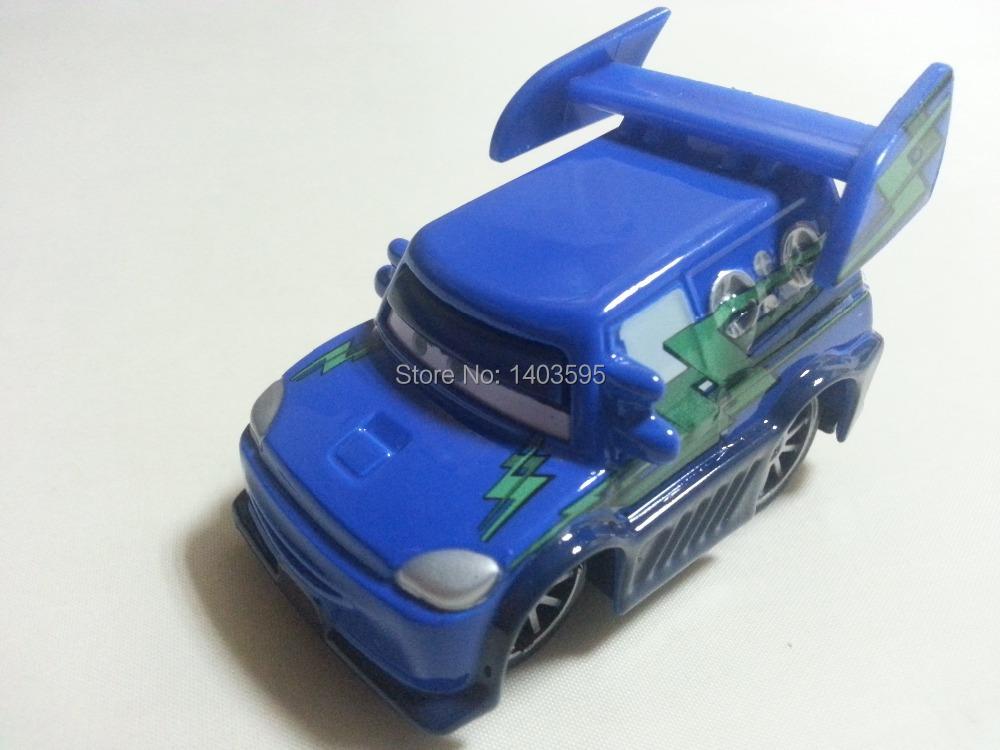Pixar Cars DJ flames Metal Diecast Toy Car 1:55 Loose Brand New Stock & Free