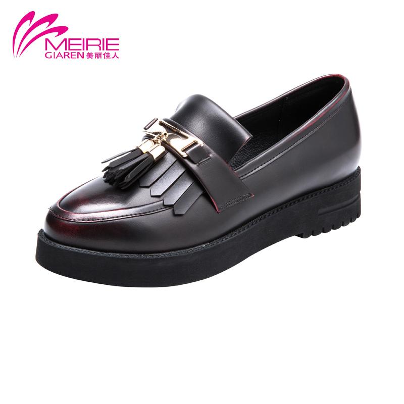 AOKANG 2016 Autumn new designer street fashion elegant woman Flats style shoes autumn ladies flat heels hot sale Free shipping(China (Mainland))