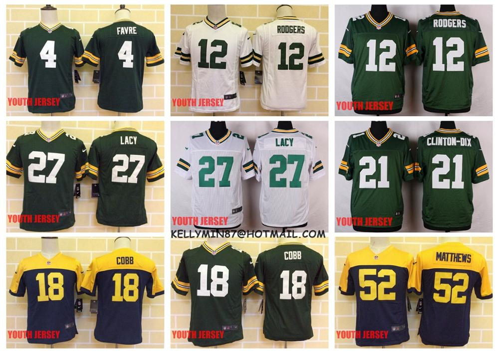 Nike jerseys for wholesale - Popular Youth Clay Matthews Jersey-Buy Cheap Youth Clay Matthews ...