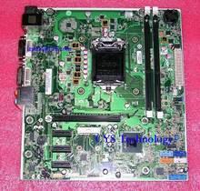 Free shipping for original desktop Motherboard for Joshua H-JOSHUA-H61-uATX 670960-001 Intel H61 LGA 1155 work perfect(China (Mainland))