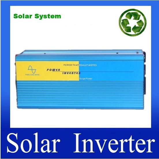 2500W DC12V AC230V ,50/60HZ,Single phase,off-grid,pure sine wave inverter,solar power inverter,home inverter,motor inverter(China (Mainland))