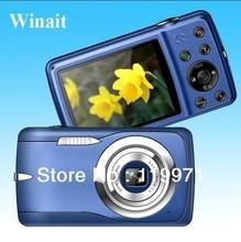 Free Shipping ,Free 8GB SD Card,5.0 MP CMOS Max To 12MP(interpolation) 2.4 Inch LCD 8X Digital Zoom Digital Camera